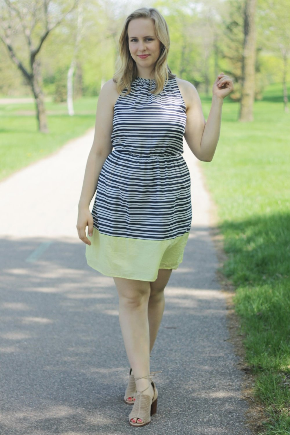 Sundress for Work and Play   Work & What She Wore