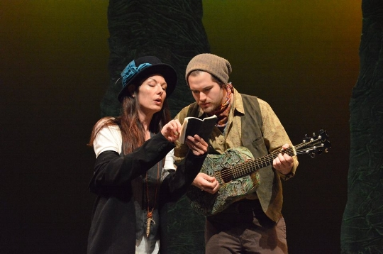 As You Like It 2016, Janet Haley (L), Ian Geers (R)
