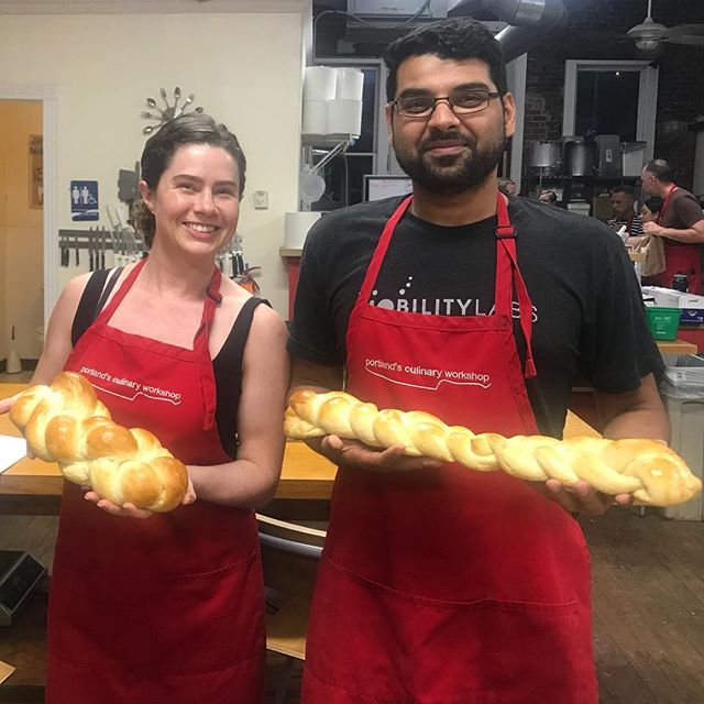 We're proud of our braided loaves. But almost definitely won't be able to repeat this success at home. #IEatBreadEveryDay #ILoafYou #breadmaking