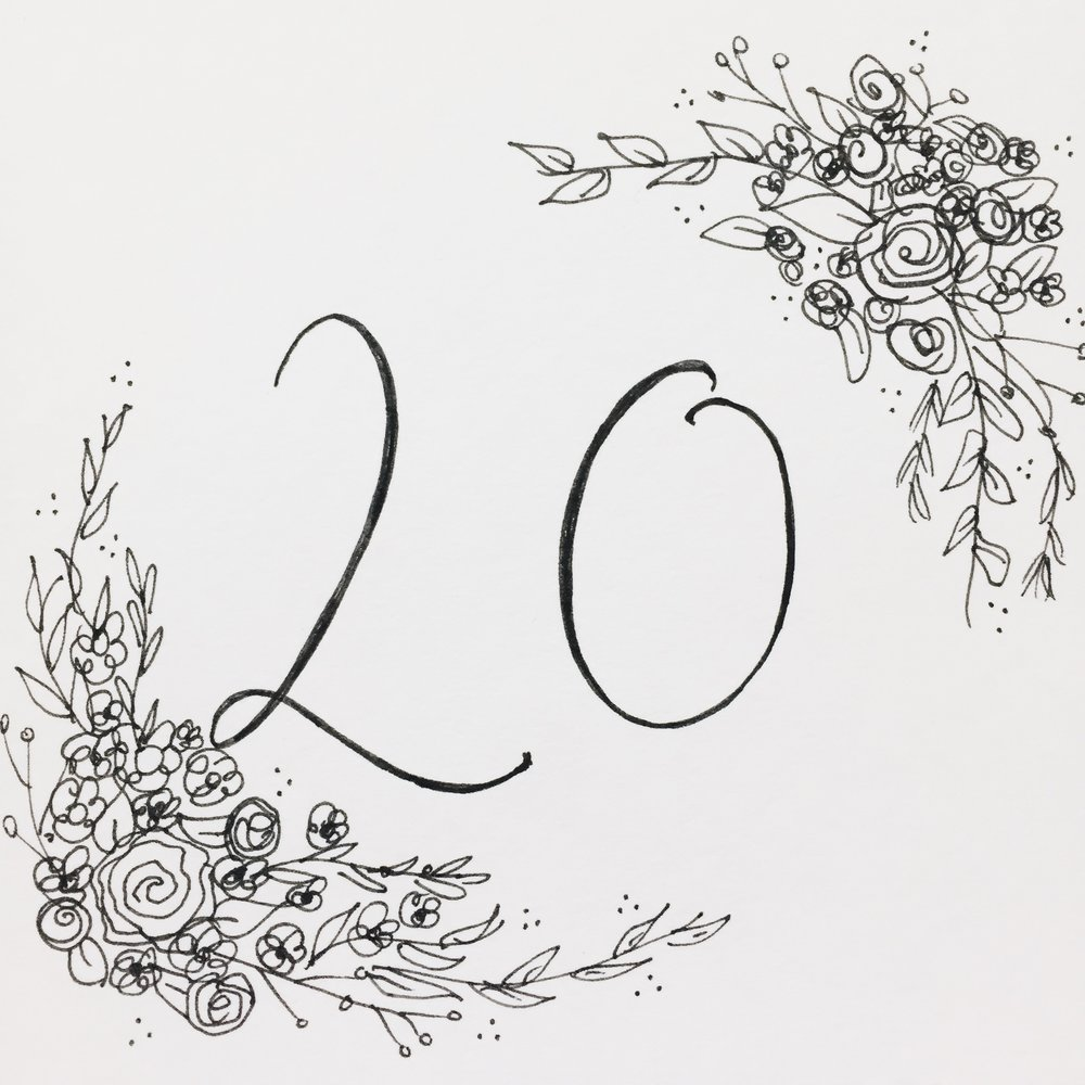 20 Things I Learned in My 20 Years -