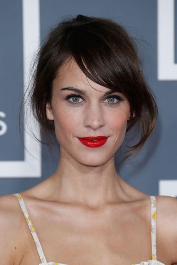Alexa Chung lipstick
