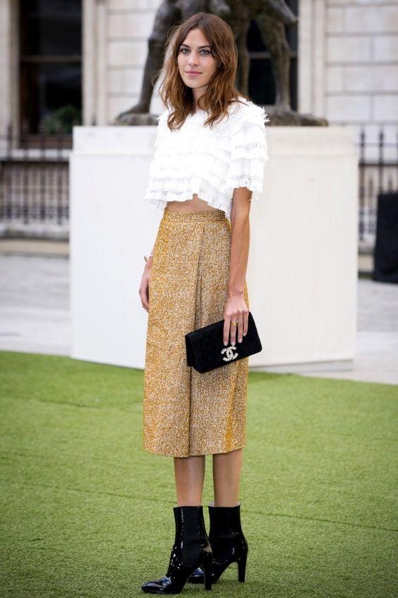 Alexa Chung summer style