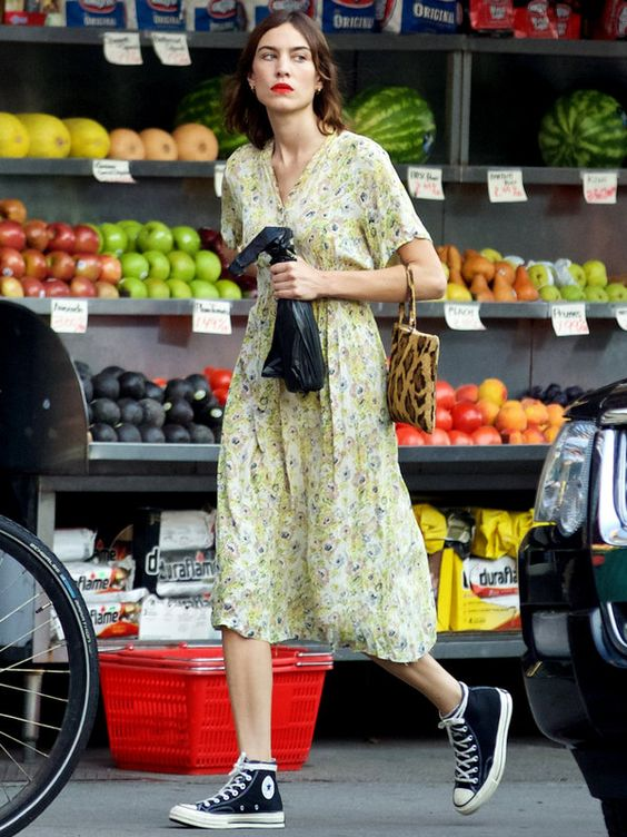 Alexa Chung Summer dress