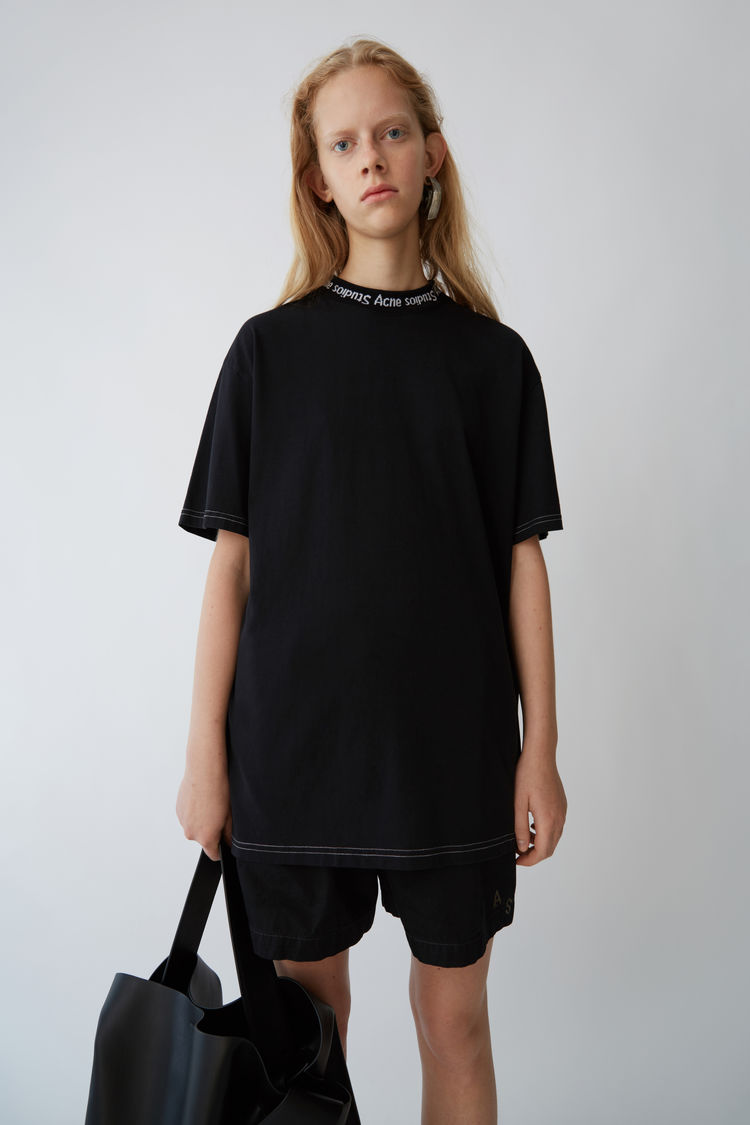 Acne studios Gojina Dyed Black