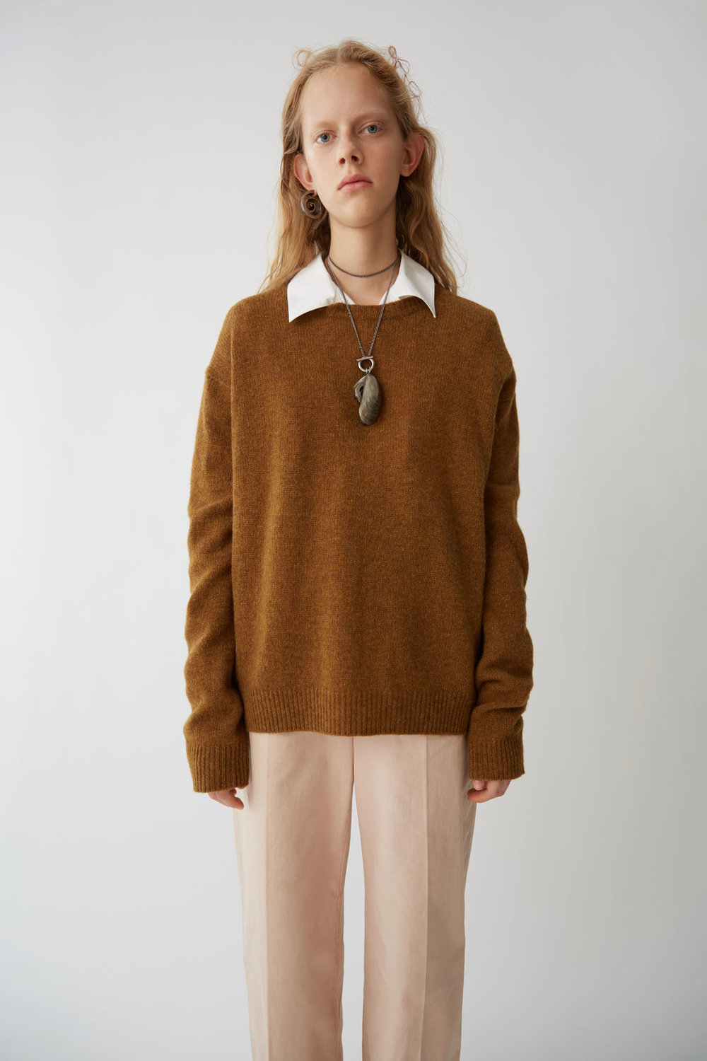 acne studios wool pullover