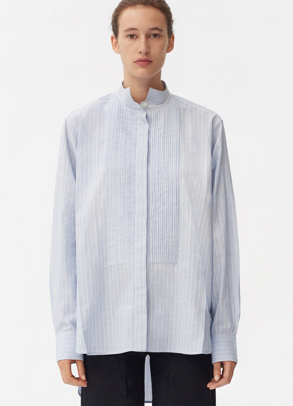 Celine masculine striped cotton shirt