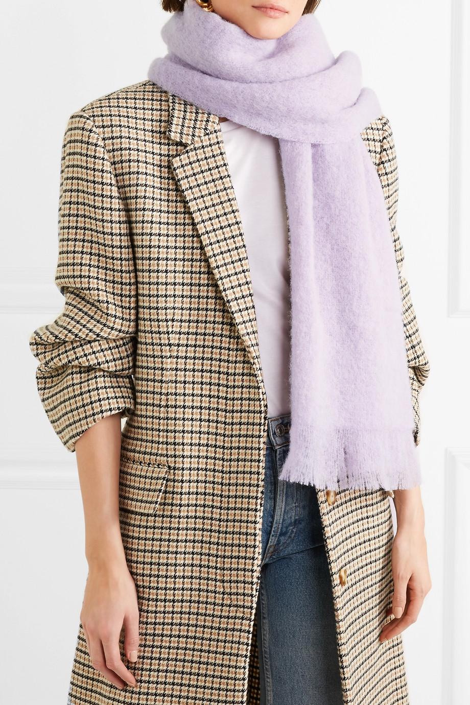 Holzweiler lavender scarf