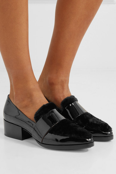 3.1 Phillip Lim quinn patent-leather loafers
