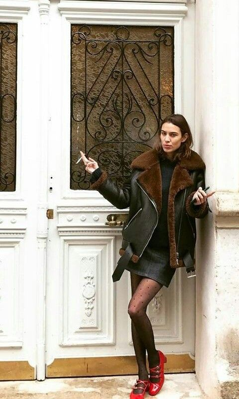 alexa chung winter style