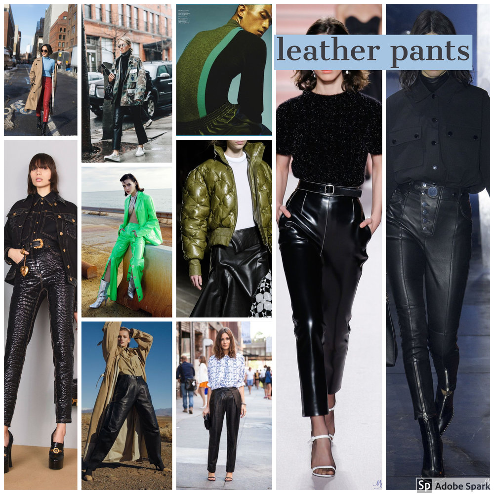leather pants fashion