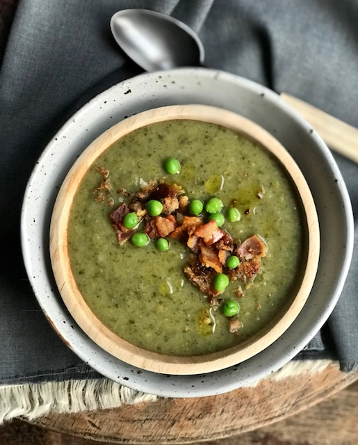 Green Soup for winter health.