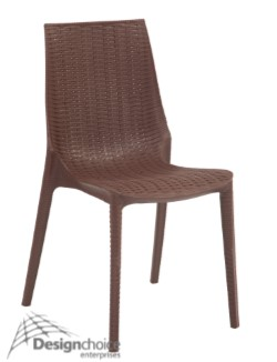 Balmoral $75 inc.GST  Polypropylene Wicker Stacking Alfresco Relaxed Essential