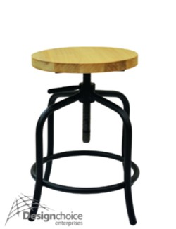 Artimus $150 inc.GST  Beech Wood/Metal Non-Stacking Eclectic Fun