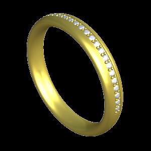 bague-or-jaune-18cts-diamant-alliance-parfaite