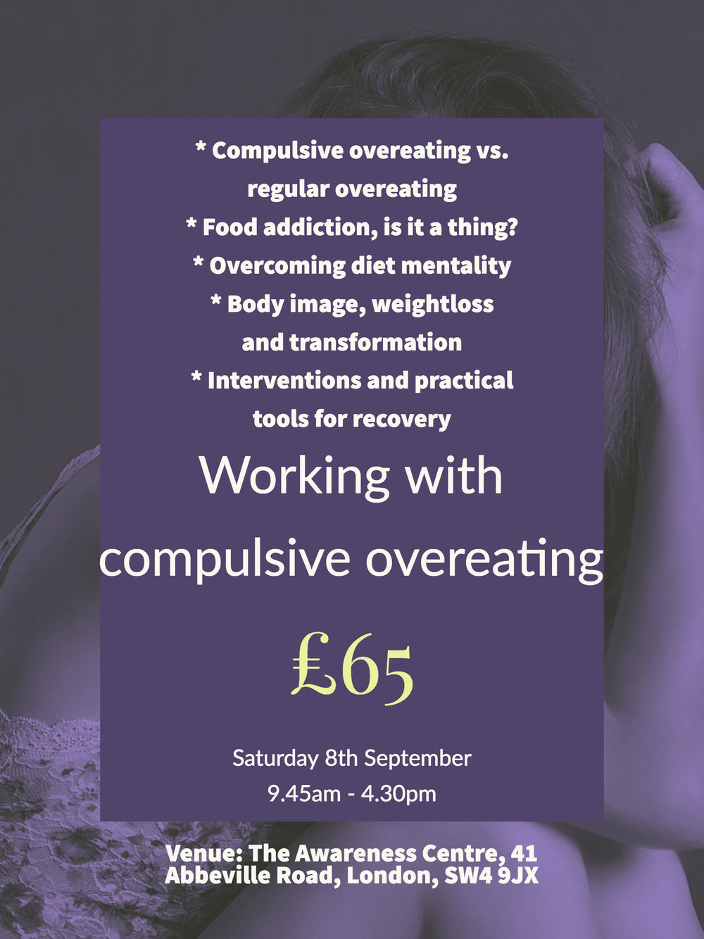 training compulsive overeating cpd workshop course eating disorders