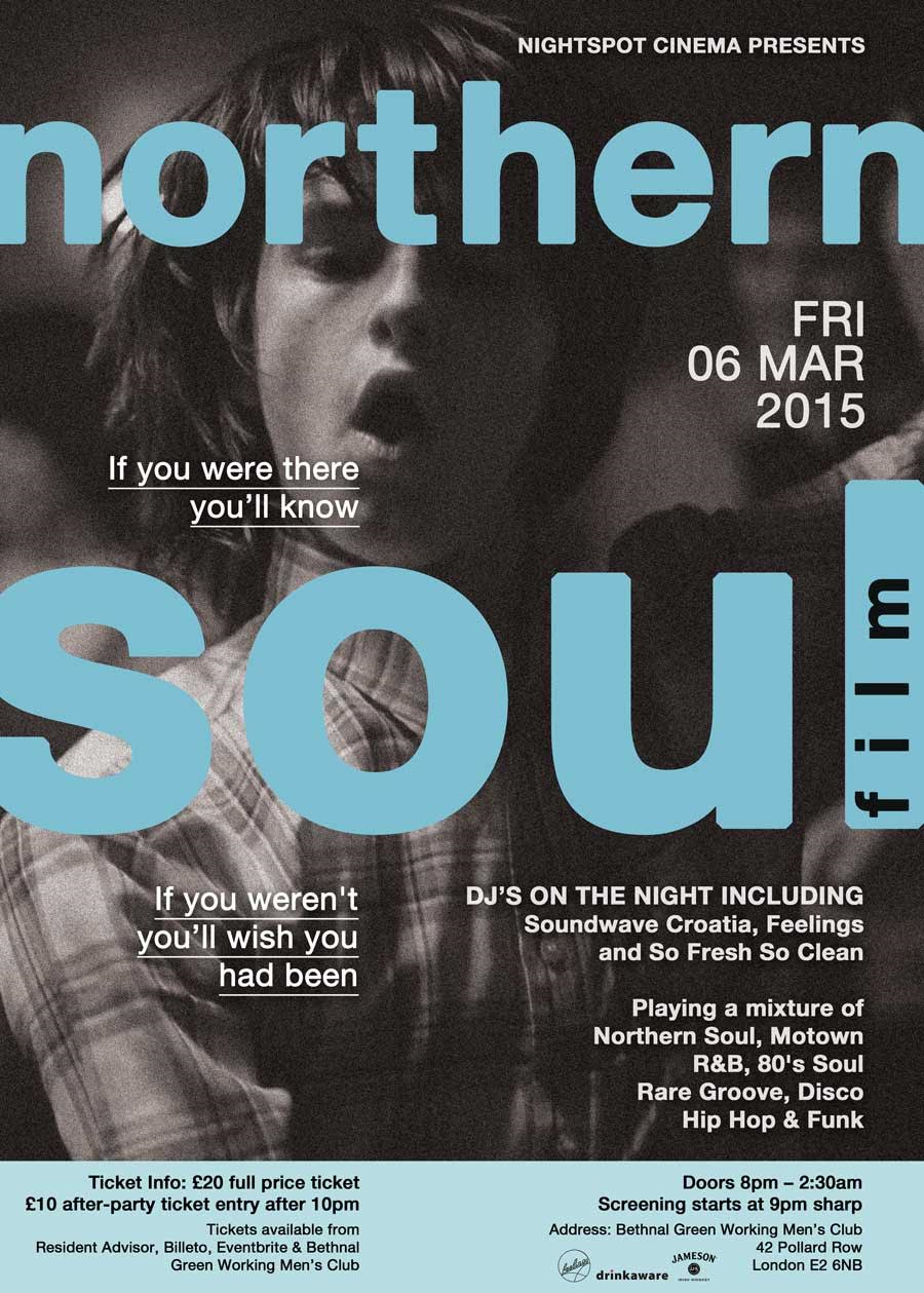 Nightspot Cinema - Northern Soul