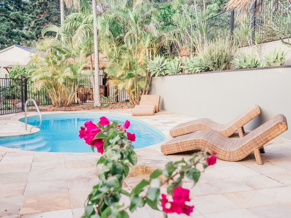 Pool - Enjoy our private pool and sunny outdoor settings to soak up the warmth and ambience