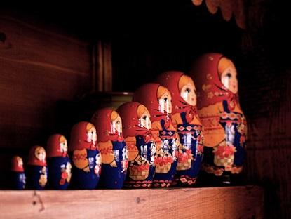 Matryoshka doll   by A.Munich via Flickr    (CC BY 2.0)