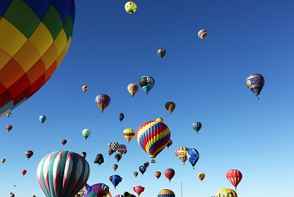 Balloons everywhere   by gardener41 via Flickr    (CC BY-SA 2.0)