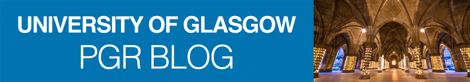 UofG Postgraduate Researcher Development Blog