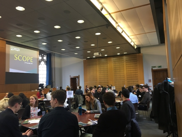 The SCOPE careers networking event  (Image - Science and Engineering Graduate School)