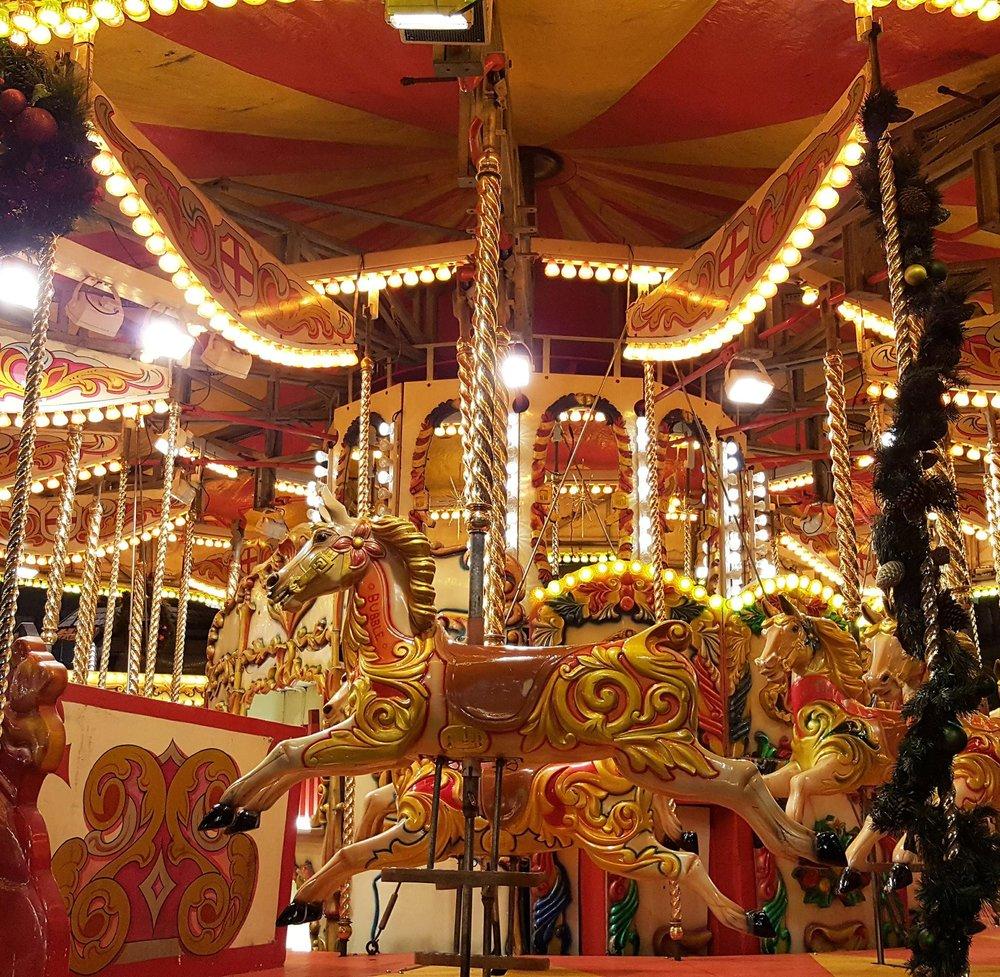 Glasgow Christmas market. Image by Bianca Sala.