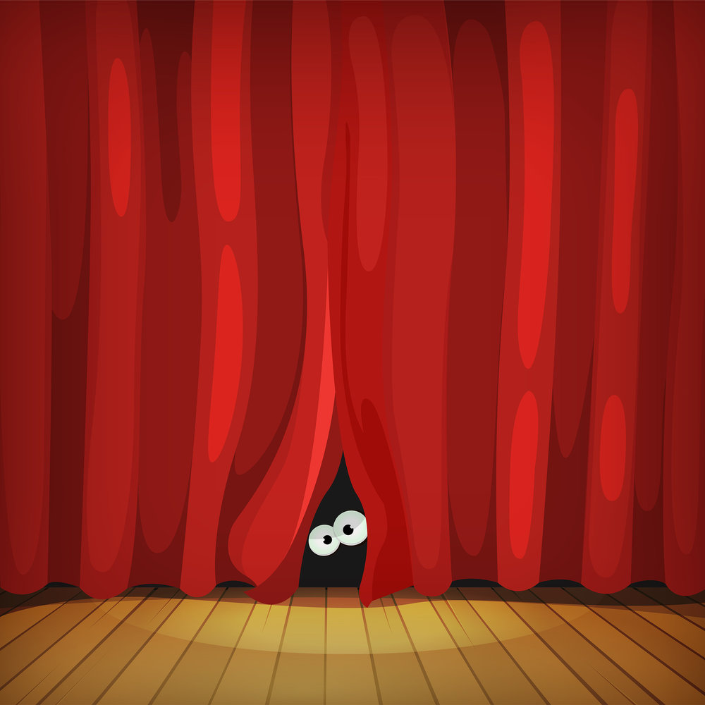 Image: Behind the Curtain