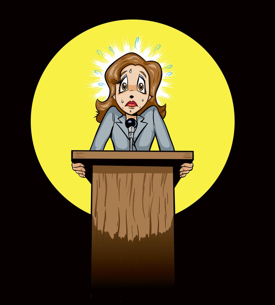 Image: 'scared-speaker'