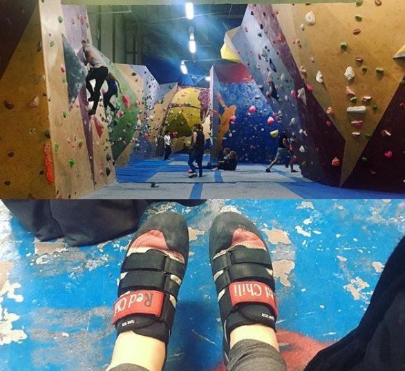 The Climbing Academy, Glasgow (Photo by Robyn Womack)