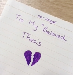 Love Letter to My Thesis: Winner