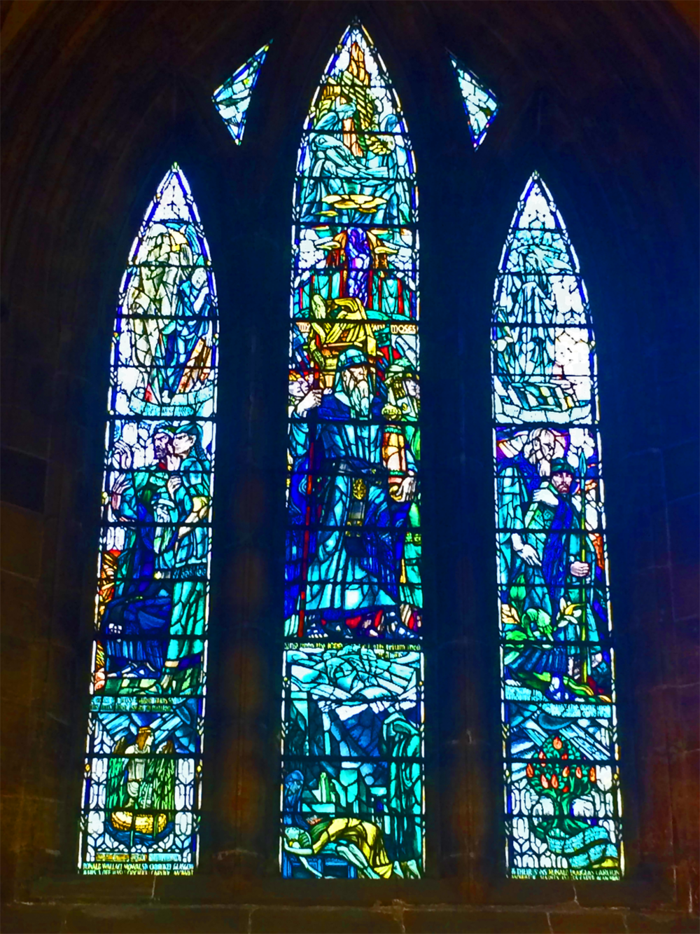 Stained Glass Window at the Glasgow Cathedral - Victoria Shropshire