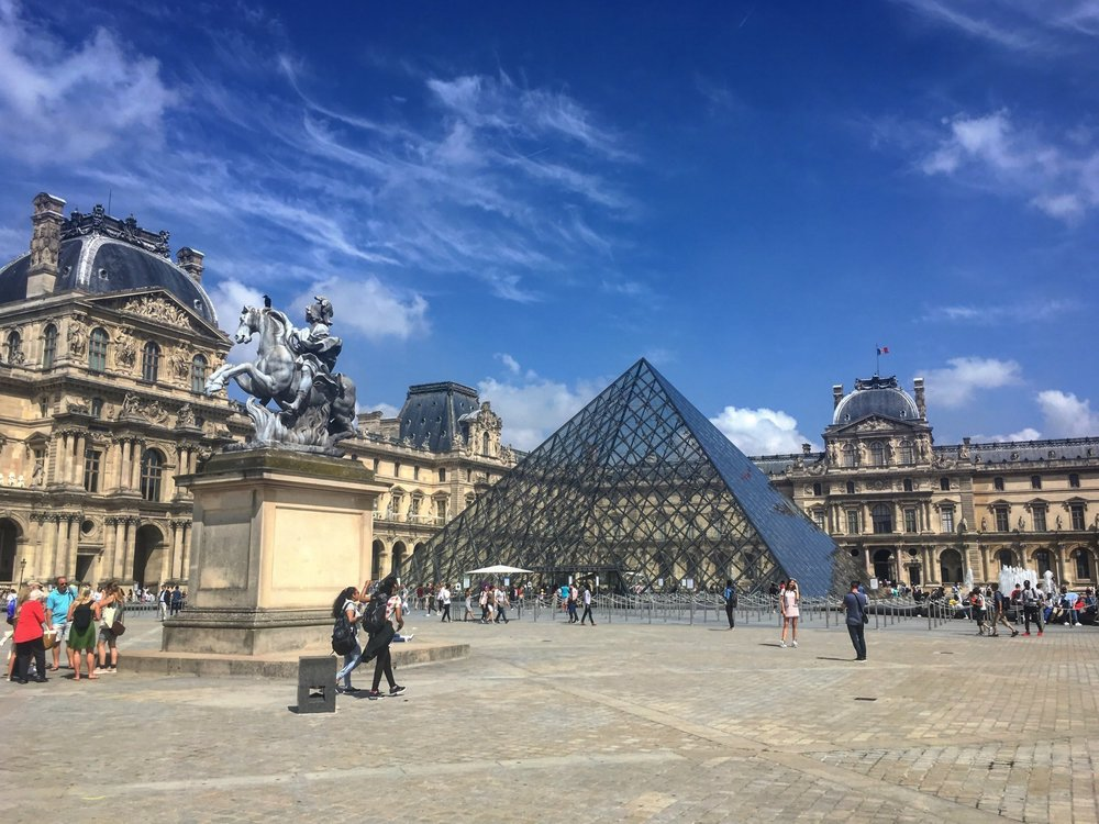 My favourite museum in the world (so far), The Louvre, Paris.