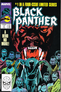 Early Black Panther comic book cover. Photo by  jeffliebig  on  Flickr