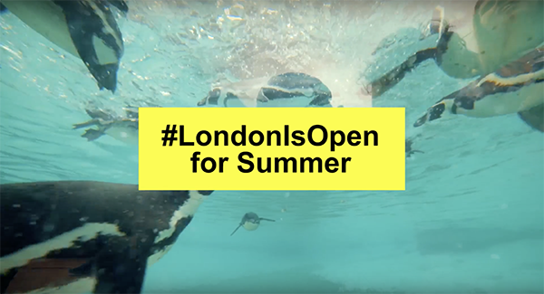Mayor of London #LondonIsOpen for Summer