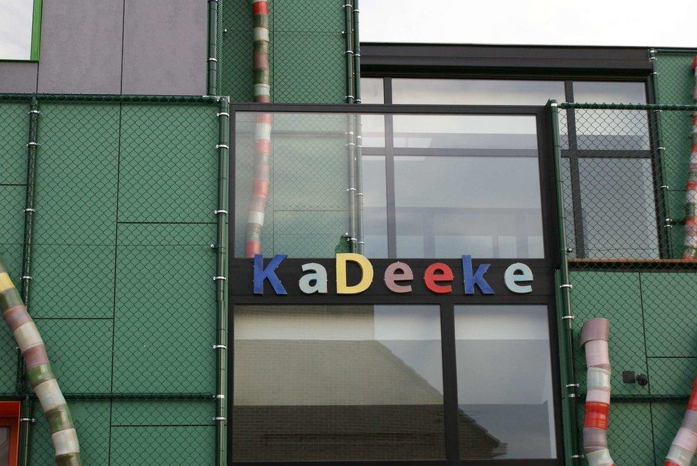 Keramische letters KaDeeke