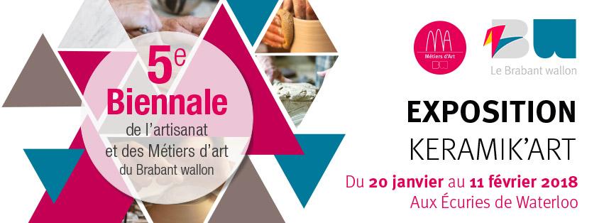 deelname aan keramic'Art 2018.