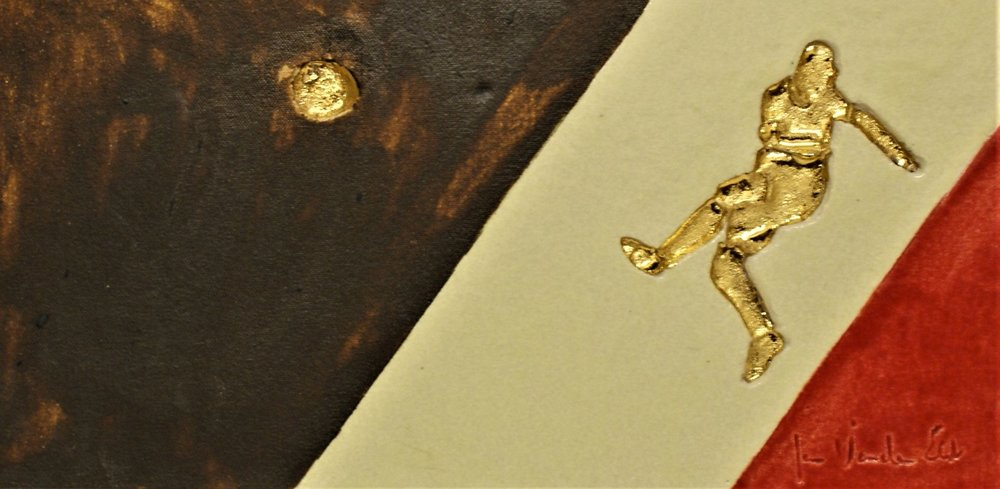 Kevin De Bruyne 42 op 21 cm  €120,00