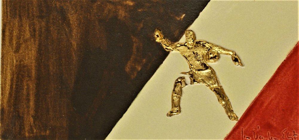 Romelu Lukaku 42 op 21 cm  €120,00
