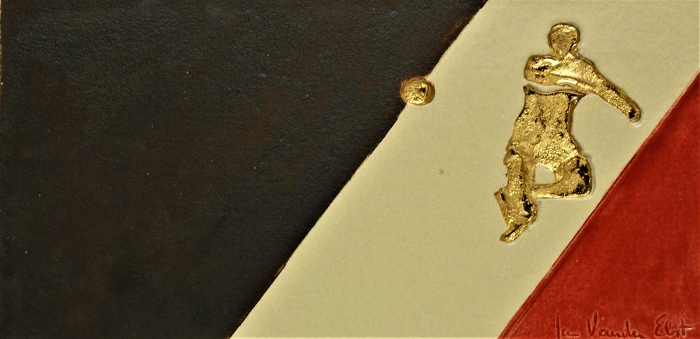 Vincent Kompany 42 op 21 cm  €120,00