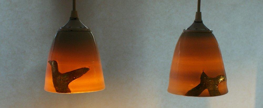 porselein  lampjes €45,00