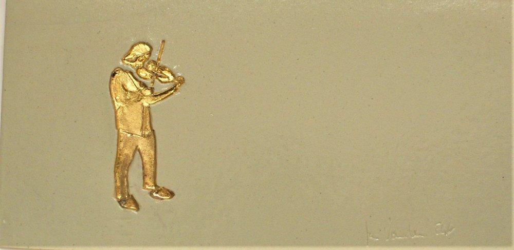 vioolspeler 42 op 21cm €95,00
