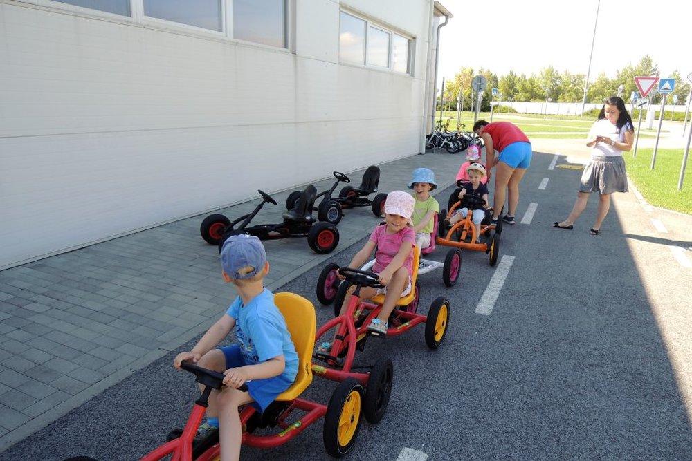 Traffic playground