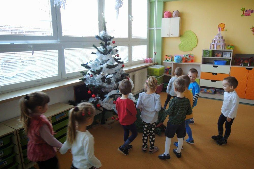 Oslava Vianoc na triedach