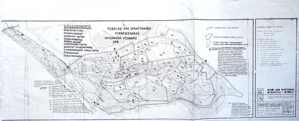 1980, Podklad pre spracovanie..., xerox, 72,5x29,5 cm