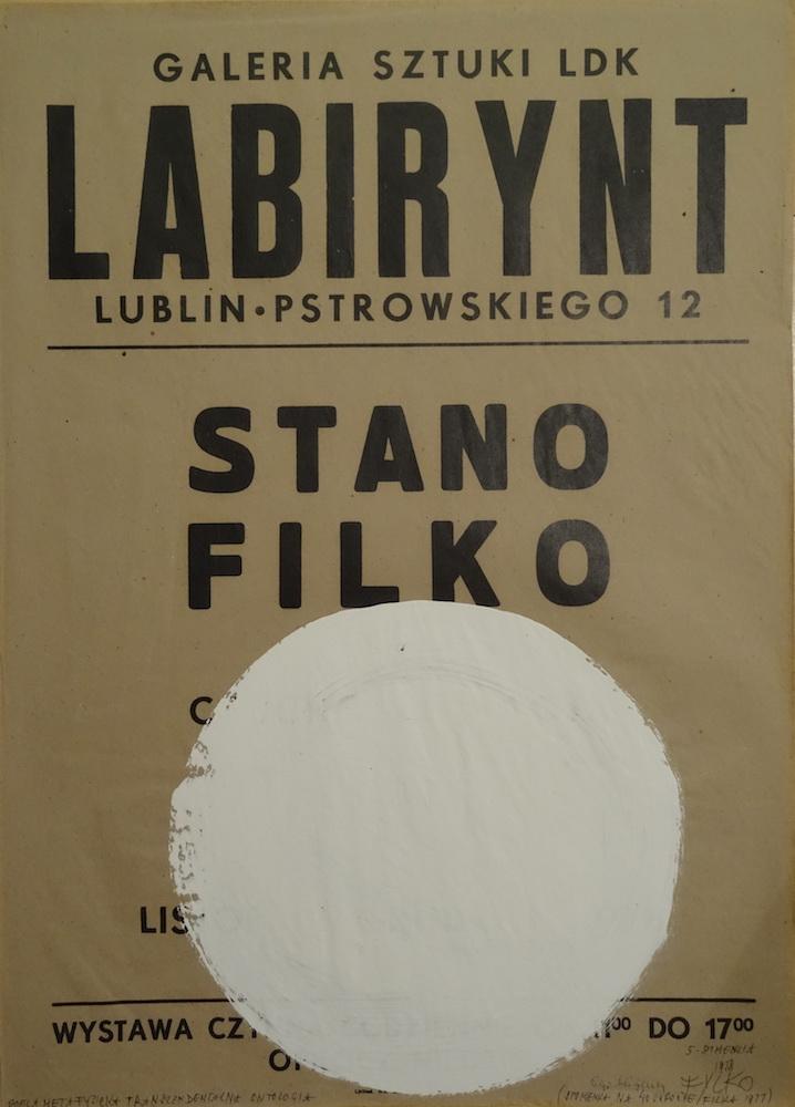 1978, Ego blíženci, maľba na plagáte, 70x50 cm