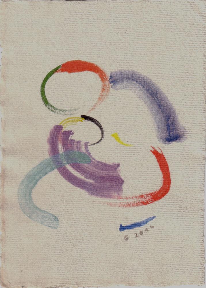 2014, Galandova madona, computer akvarel,  21x15 cm