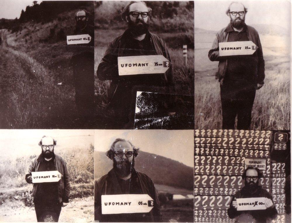 1978, Univerzálna Fantastická orientácia 1-6, fotografia, 19x25 cm