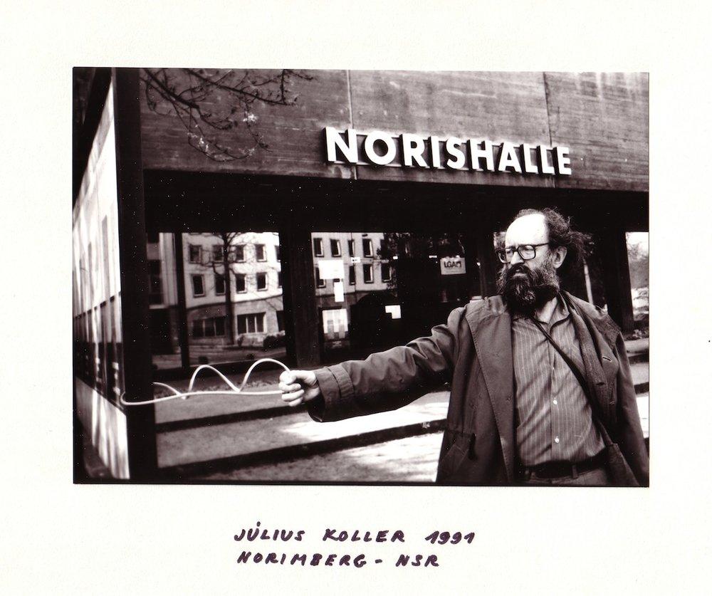 1991, Norimberg - NSR, fotografia, 13x18 cm, papier 21x29,5 cm