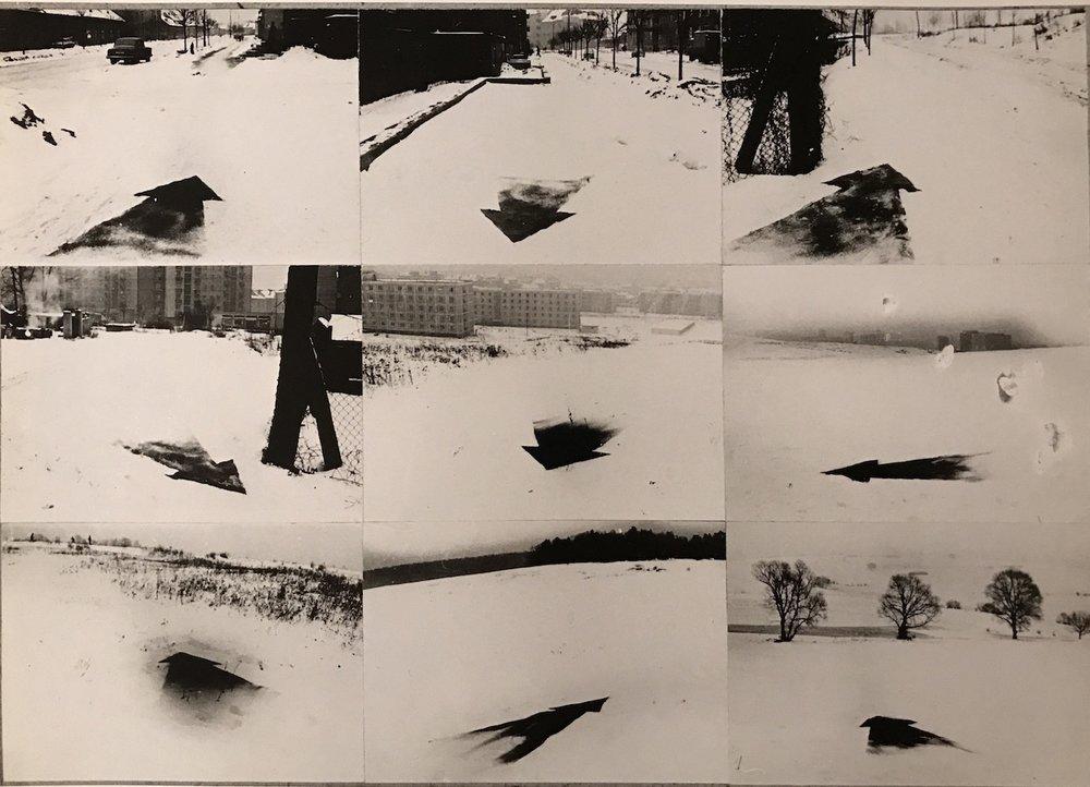 1970, Z mesta von I, fotografia, 30x40 cm