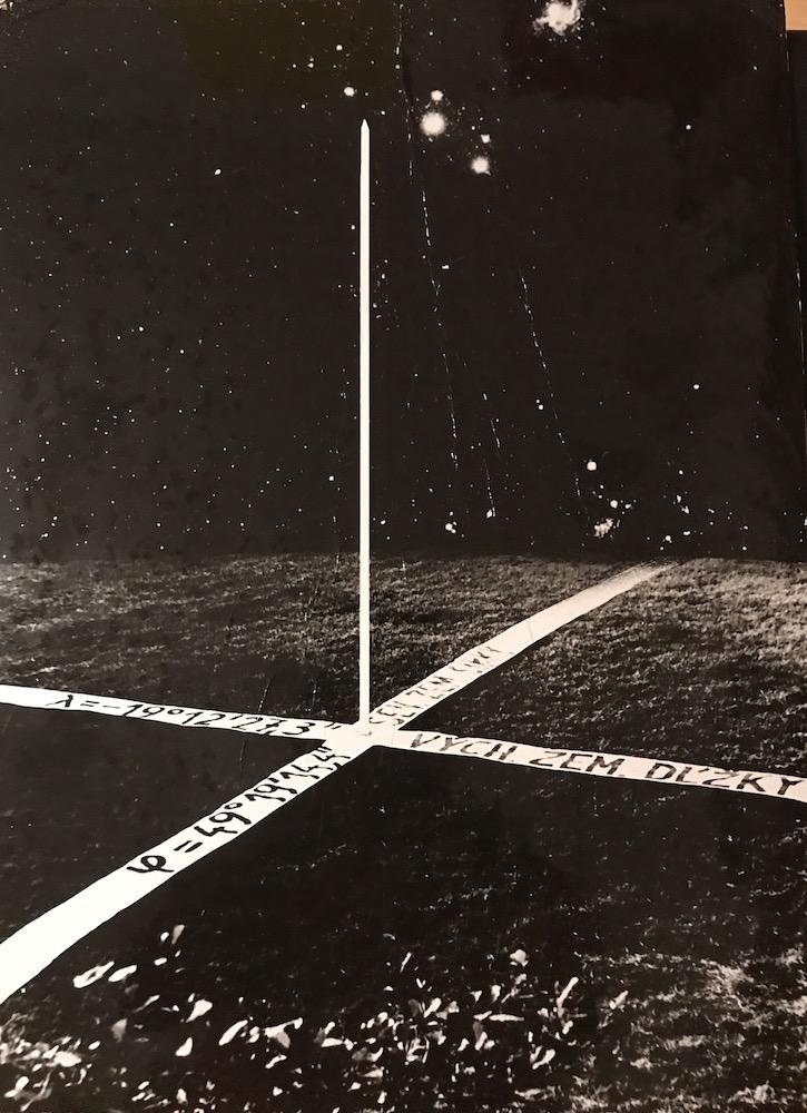 1971 - 75, Pocta priesečníku, fotografia, 39x28 cm